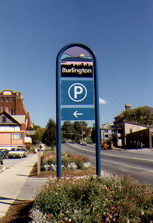 Burlington Sign System