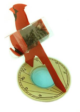 Cork Birdhouse Ornament